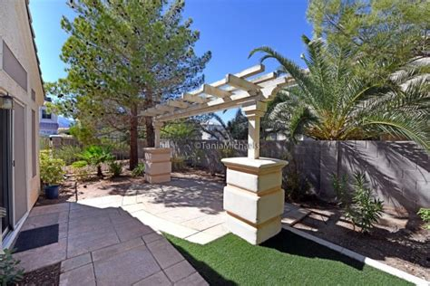 Lone Backyard by Lone Mountain Las Vegas Homes For Sale 7972 Mcdowell
