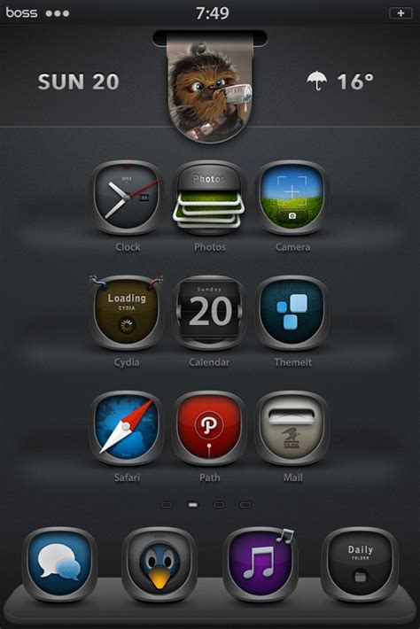 iphone themes top 10 top 10 hd retina display winterboard themes for iphone 4s