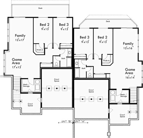craftsman luxury duplex house plans with basement and craftsman duplex house plans luxury duplex house plans
