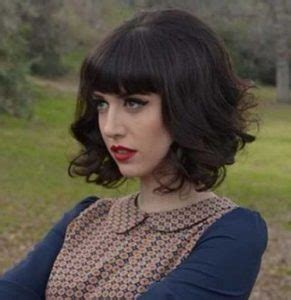 a bob with big bangs best medium length hairstyles for thick hair