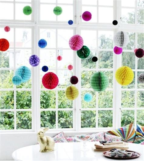 diy hanging window decorations that will brighten up your day