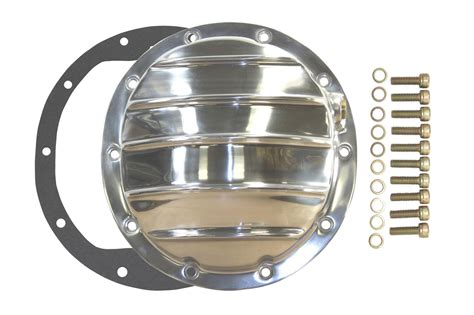 gmc differential polished aluminum chevy gm 10 bolt differential cover for