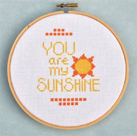cross stitch pattern you are my sunshine 27 best images about cross stitch embroidery on