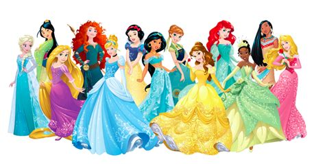 princess s disney princesses past and present