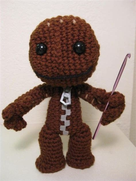 how to knit a sackboy sackboy crochet pattern crochet kid and