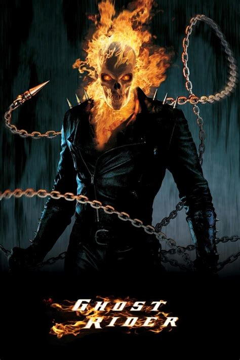 film ghost rider full ghost rider 2007 posters the movie database tmdb