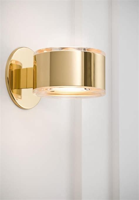 Modern Sconces Bathroom by Bathroom Sconces One Light Brass Bathroom Sconce 478 A