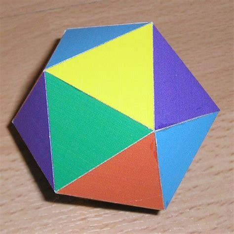 Platonic Solids Origami - paper icosahedron