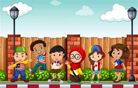 imagenes alegres infantiles dibujos infantiles fotos y vectores gratis