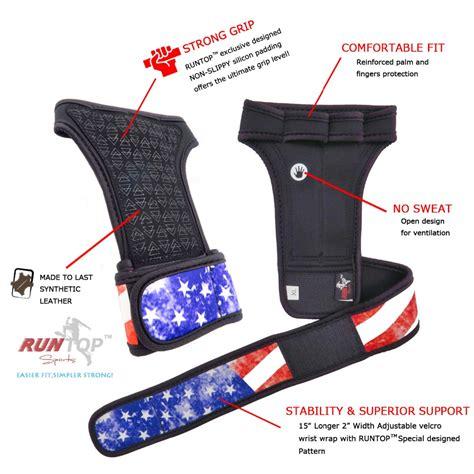 Sarung Tangan Fitness Blue runtop sarung tangan weight lifting glove support