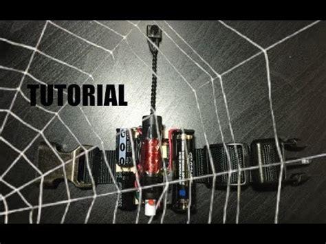 tutorial web shooter mark 1 electromagnetic web shooter tutorial youtube