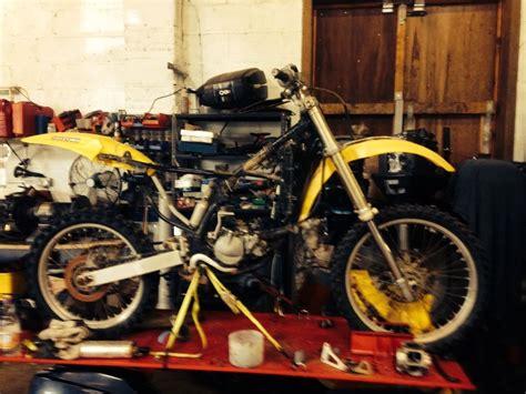 motocross bike repairs suzuki rm 125 1995 motorcycle motorcross offroad spares or