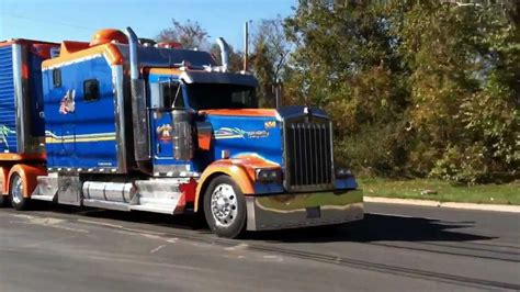 kenworth custom crazy kenworth w900 custom condo pt2 doovi