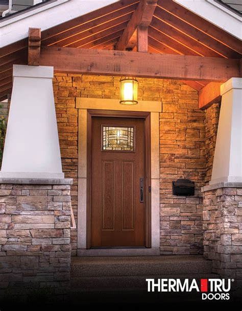 Therma Tru Garage Doors 1000 Images About Fiber Classic Mahogany Collection On Parks Privacy Glass And