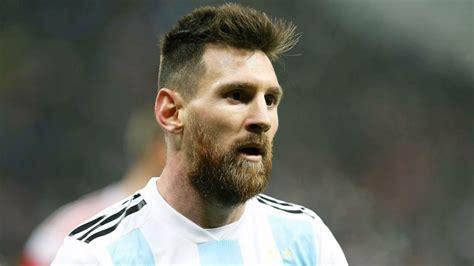 argentina hairstyle lionel messi world cup cleats adidas nemeziz 18 photos