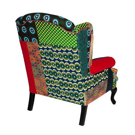 Patchwork Armchair For Sale - buy desigual patchwork armchair green amara