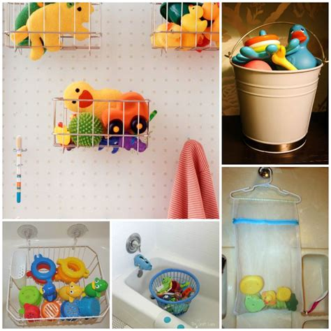 15 ways to store bath toys and magically declutter your