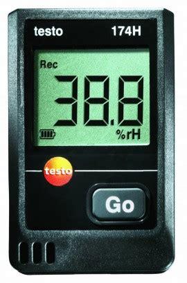 speed of sound testo testo 174h temperature humidity data logger 2 channel w