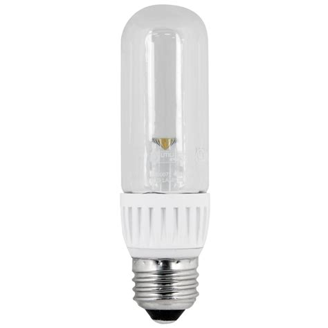 T10 Led Light Bulbs Shop Utilitech 25 W Equivalent Warm White T10 Led Decorative Light Bulb At Lowes