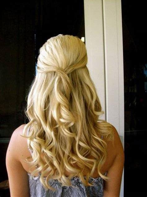 ball hairstyles half up half down curls 10 awesome half up half down hairstyles 2015 uk fashion