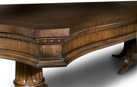 legacy classic 9350 622 9350 240 241 american traditions american traditions rectangular pedestal table from legacy