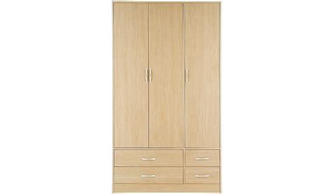 Birch Wardrobe by Florida Birch Wardrobe 3 Door 4 Drawer Furniture