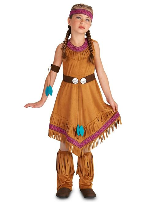 Native American Princess Girls Costume Holiday Costumes American Princess