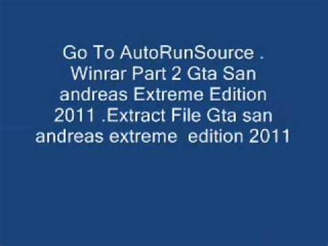download gta san andreas extreme edition 2011 full version full download how to install gta sa ee 11