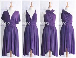 Ways To Wear Infinity Dress Bridesmaid Dress Convertible Dress Jersey Dress Infinity
