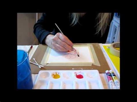 watercolor tutorial for beginners youtube watercolor tutorial wet on dry technique for beginners