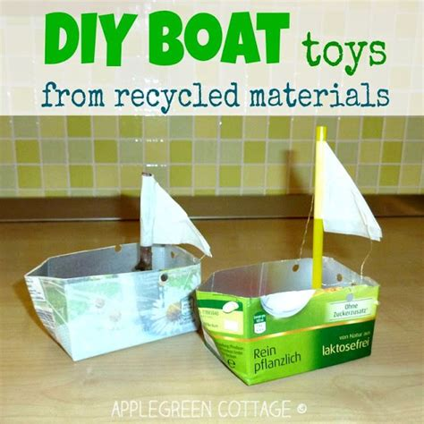 how to make a boat with waste material how to make boats for kids from repurposed materials