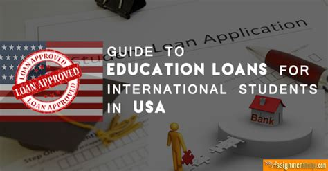 Financial Aid For International Students In Usa For Mba by Education Loan Guide For International Students In Usa