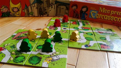 Asmodee Jeu Carcassonne by Mon 1er Carcassonne
