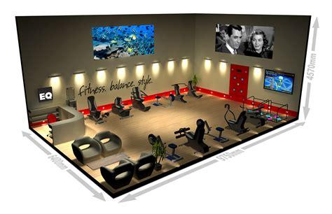home gym design download 3d model for gym proposal