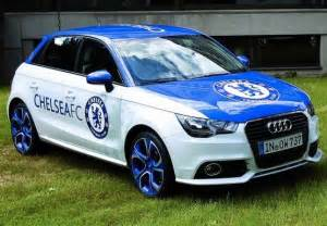 audi and chelsea fc make an official partnership
