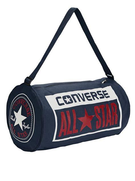 Converse Duffel Bag converse duffel bag in blue for navy lyst