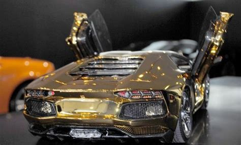 lamborghini gold and diamonds solid gold aventador lp 700 4 model 13 pics