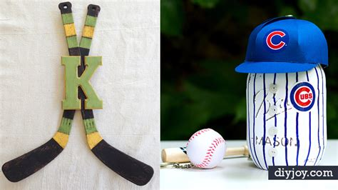 diy sports crafts 30 cool diy ideas for the sports fan in your diy