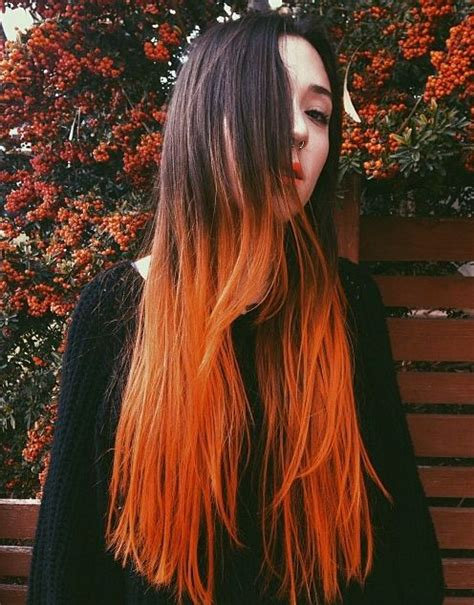 7 Tips For Dying Your Hair Brown by Best 25 Dip Dye Hair Ideas On Dip Dyed Hair