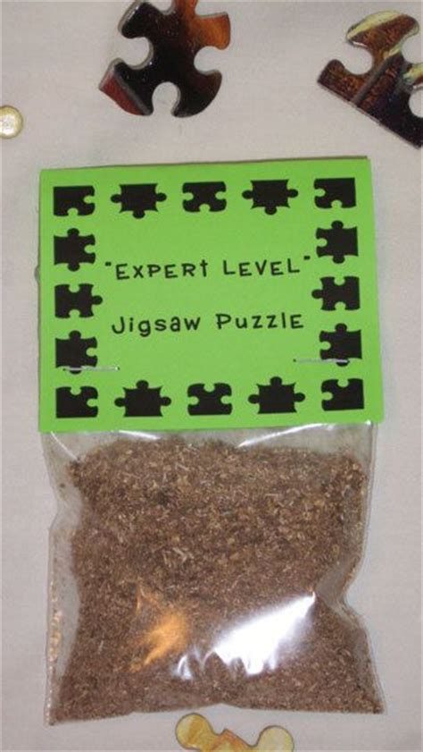 gag gift expert level jigsaw puzzle novelty gift ideas