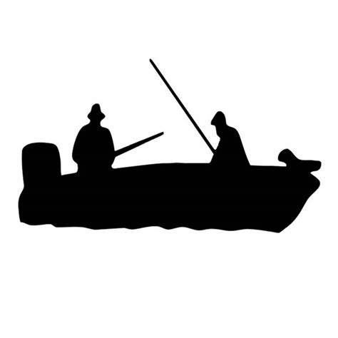 fishing boat silhouette clip art fishing boat clipart hot pencil and in color fishing