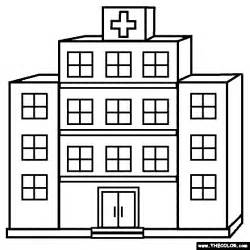 free coloring pages hospital