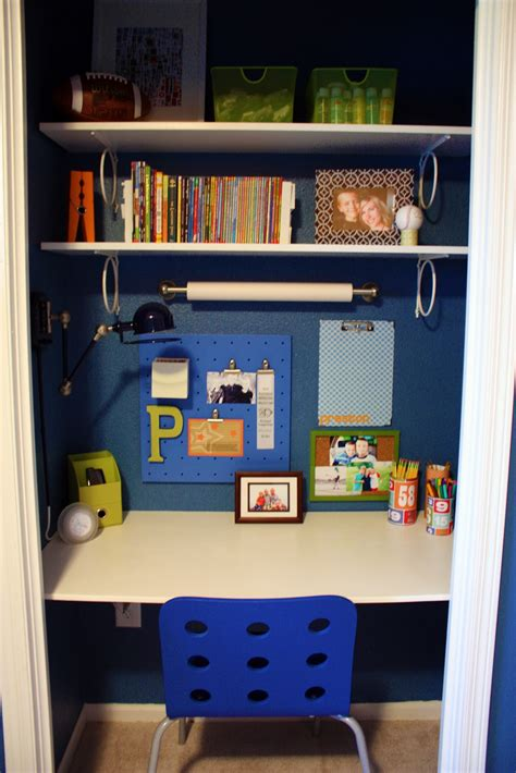 Desk In Closet by Iheart Organizing Closet The Ultimate Kid S Study Zone