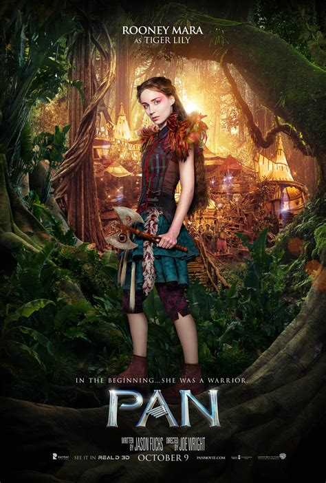 in pan pan character posters feature hugh jackman and levi miller collider