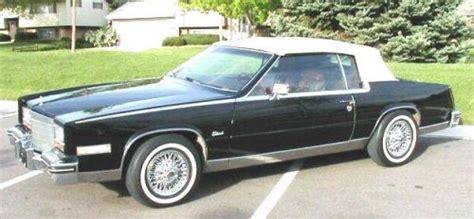 1983 Eldorado Cadillac History