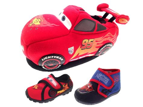 disney slippers boys disney cars 3d slippers novelty booties