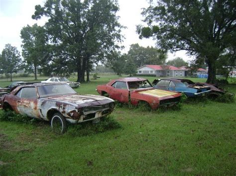 camaro salvage yards 1st camaros scrap yards and abandoned cars