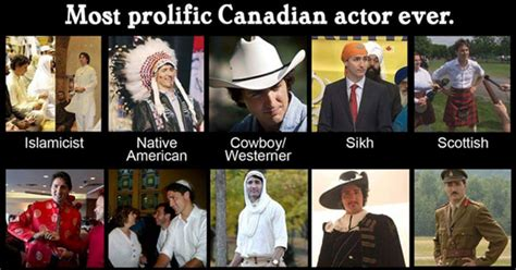 justin trudeau wearing brown  black face memes funny