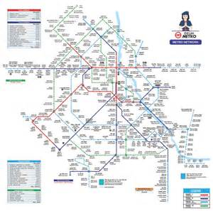 Delhi Metro Map by Dmrc Releases Official Phase 4 Map Of The Delhi Metro