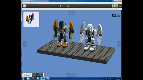 lego universe tutorial how to make a lego universe stromling mech youtube